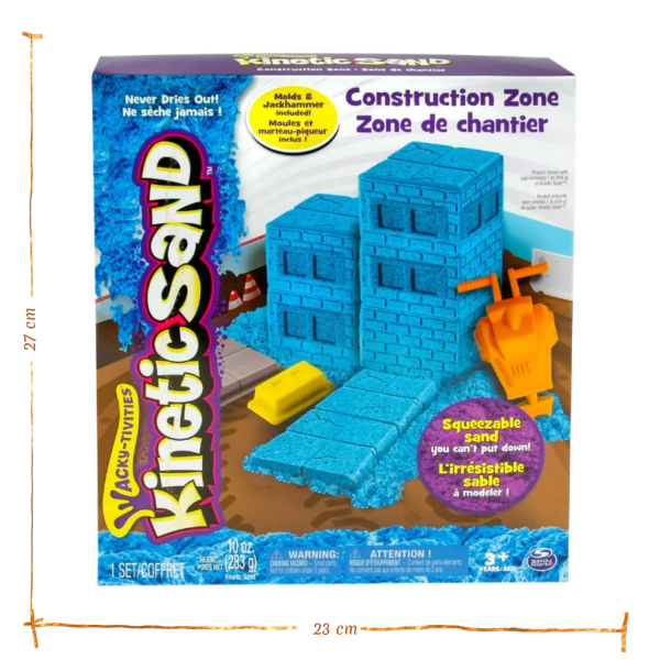 Kinetic Sand - Construction Zone